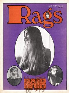 Rags Magazine Cover, Issue 11 1971