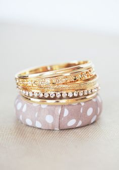 Tea Party Surprise Bangle Set | Modern Vintage New Arrivals