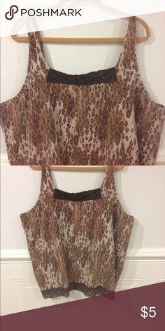 Size 4X(30-32W) Liz & Me Cami good condition Size 4X(30-32W) Liz&Me Cami good condition Liz&Me Intimates & Sleepwear