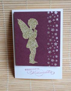 Noch mehr Weihnachtskarten, Stampin up, Big Shot, Alexandra Renke, Engel Die, Memory Box