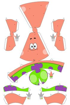 Buzz Lightyear Papercraft Paper toy Do Patrick Spongebob Paper toys Boxes Buzz Lightyear Papercraft Paper toy Do Patrick Spongebob Paper toys Boxes 3d Paper Crafts, Diy Paper, Diy And Crafts, Crafts For Kids, Cardboard Toys, Paper Toys, Spongebob Crafts, Imprimibles Toy Story, Paper Models