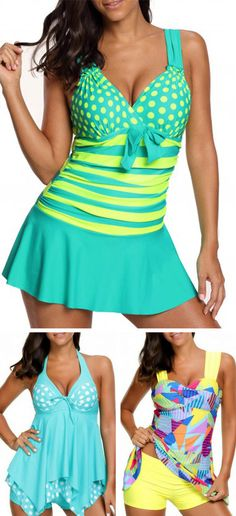 Cute tankinis for women at Rosewe.com, free shipping worldwide, check them out.