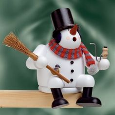 KWO Sitting Snowman German Incense Smoker $114.99