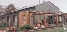 steel barn homes | homes from prefab steel barns - American Outback Buildings