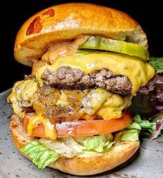 "New Year New Chew @thetuckroom @tuckroomnyc ""The Boss"" #burger #southstreetseaport #nyc"