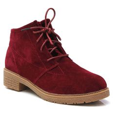 Suede Boots Lace Up Flat Shoes ($9.29) ❤ liked on Polyvore featuring shoes, boots, round toe flats, round toe boots, faux-suede boots, lacing boots и laced boots