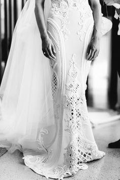 Kate Twigley J'Aton Couture wedding gown V