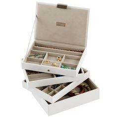 Jewelry Boxes- #1 Stackers Premium Stackable Jewelry Box #rankandstyle