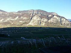 Il monte Fausior visto da maso Panizza di Sopra