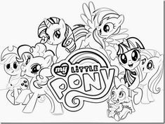 my little pony coloring pages free - My Little Pony Coloring Pages