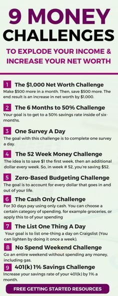 9 fun money challenges you can try to increase your income save more money