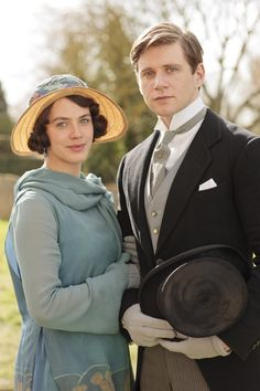 Downton Abbey - Lady Sybil Crawley and Tom Branson