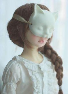 masks on dolls