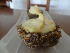Raw #Durian Pineapple Tartlets - #durianmadness #kingoffruits #freeshing