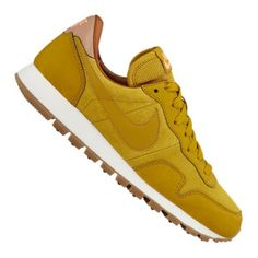 Nike Air Pegasus '83 Leder Sneaker Damen Gelb F301 - Freizeitschuh für Frauen von Nike - Schuh in Frauengrößen