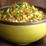 Cauliflower �Couscous� with Basil-Lemon Sauce