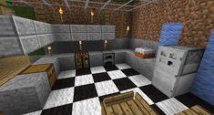 Kitchen Designs? Survival Mode Minecraft Discussion Minecraft Forum Modern minecraft houses Minecraft kitchen ideas Living room in minecraft