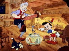 Pinocchio. Honestly, he was such a naive and ignorant boy