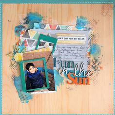 2 Crafty Chipboard : 'Fun in the Sun' Boy Scrapbook Page By Kripa Scrapbook Layouts, Scrapbook Pages, Scrapbooking, Chipboard, Paper Crafts, Concept, Sun, Crafty, Boys