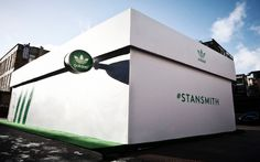"""""""The Stan Smith shoe box"""" http://www.campaigndesign.co.uk/ #stansmith #adidas #campaign #retail"""