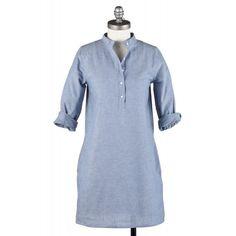 ann mashburn | Ann Mashburn Shirtdress Blue Chambray