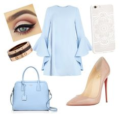Designer Clothes, Shoes & Bags for Women Everything Is Blue, Pills, Cartier, Christian Louboutin, Kate Spade, Shoe Bag, Polyvore, Bags, Stuff To Buy