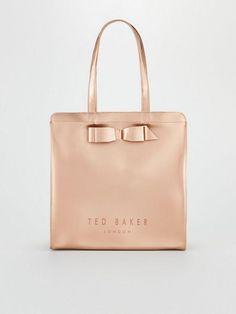ΤΣΑΝΤΕΣ ΩΜΟΥ από τη συλλογή της εταιρίας TED BAKER της σαιζόν Άνοιξη - Καλοκαίρι 2019.   Σύνθεση : Συνθετικό.  Ύψος: 35 cm- Πλάτος: 34 cm Ted Baker, Spring Summer, Rose Gold, Handbags, Tote Bag, Totes, Purse, Hand Bags, Women's Handbags