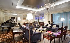 Royal Suite at Lotte Hotel Moscow