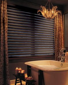 ZonaEstilo and Prosein offers all you need to make your bathroom everything you always envisaged. Regardless of whether your bathroom on personal care or relaxation. Why not add a Hunter Douglas Silhouette® Window Shading for whole new bathroom experience?