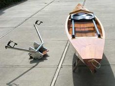 Photos of The Sliding Rigger - high performance rowing from RUM International and Virus Boats
