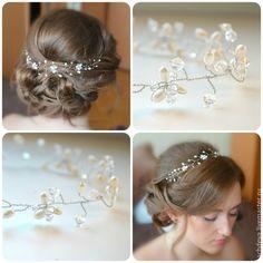 Заколки для волос на свадьбу