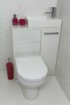 New Bathroom Shower Tub Space Saving Ideas Tiny Bathrooms, Tiny House Bathroom, Bathroom Toilets, Bathroom Small, Compact Bathroom, Bathroom Pink, Cloakroom Toilet Small, Attic Bathroom, Master Bathroom