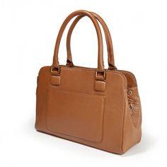 La redoute 70€ - Sac en cuir 3 compartiments LAURA CLEMENT