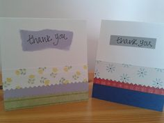 greeting card and sewn envelope