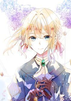 Violet Evergarden by Ricemo on DeviantArt Manga Art, Manga Anime, Anime Art, Violet Evergreen, Violet Garden, Violet Evergarden Anime, Chibi, Graphisches Design, Kyoto Animation