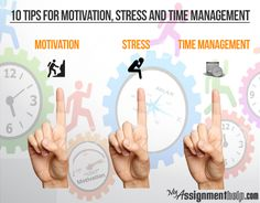 Let's once again remind you a much repeated phrase: 'Time is money'. Yes, time is limited and we all have to make the most of it. But people usually get stressed when the situation to effectively manage time comes.The first thing that people crave for most under these circumstances is motivation.