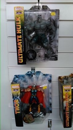 New Marvel select toys