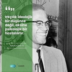 📷 #Irkçılık ideolojik bir düşünce değil, aksine #psikolojik bir hastalıktır.#MalcolmX#haber #gzt #gündem #Malcolm