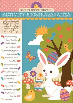 Easter Activities PDF printable