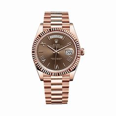 Rolex Watches Collection For Women : Rolex Day-Date 40 President Everose Gold Watch 228235 Anniversary Green Dial - Click image for more details. (This is an affiliate link) - Watches Topia - Watches: Best Lists, Trends & the Latest Styles Army Watches, Rolex Watches, Watches For Men, Casual Watches, Tag Watches, Rolex Day Date, Rolex Oyster Perpetual, Automatic Watch, Luxury Watches