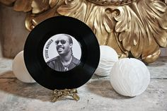 music vinyl record wedding table name Sock Hop Party, Wedding Table Names, Vinyl Records, Stationery, Music Instruments, Party Ideas, Diy, Sweets, Paper Mill