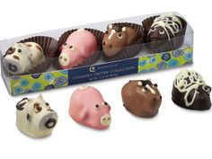Moonstruck Chocolate Company Country Critter Collection #easter #sweets