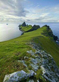 Isle of Eigg. Scotstown highland, UK
