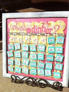 Seriously need to menu plan...perhaps a cute menu board would motivate me :-)