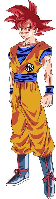 |★| Super Saiyan God Goku |亀| - Visit now for 3D Dragon Ball Z compression shirts now on sale! #dragonball #dbz #dragonballsuper