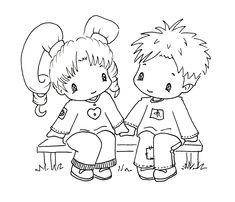 Sliekje digi Stamps: Lovely couple