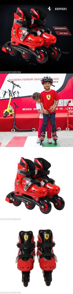 Men 47346: Inline Skates Kids Roller Blades Adjustable Size Skate 11J-13.5J Red Boys Girls -> BUY IT NOW ONLY: $46.99 on eBay!