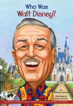 Recommended for grades 3-6. Highlights the life and accomplishments of the famous cartoonist who created Mickey Mouse, Snow White and the Seven Dwarfs, and Bambi and was the owner of Walt Disney Studios and Disneyland. Walt Disney always loved to entertain people. Often it got him into trouble. With black-and-white illustrations throughout, this biography reveals the man behind the magic. One of the many biographies in the Who Was series.