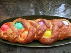 Easter Bread - Brian's Mom made a version of this last year and it was super tasty :)
