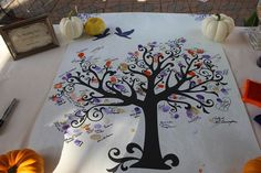 "Thumbprint ""family"" tree"
